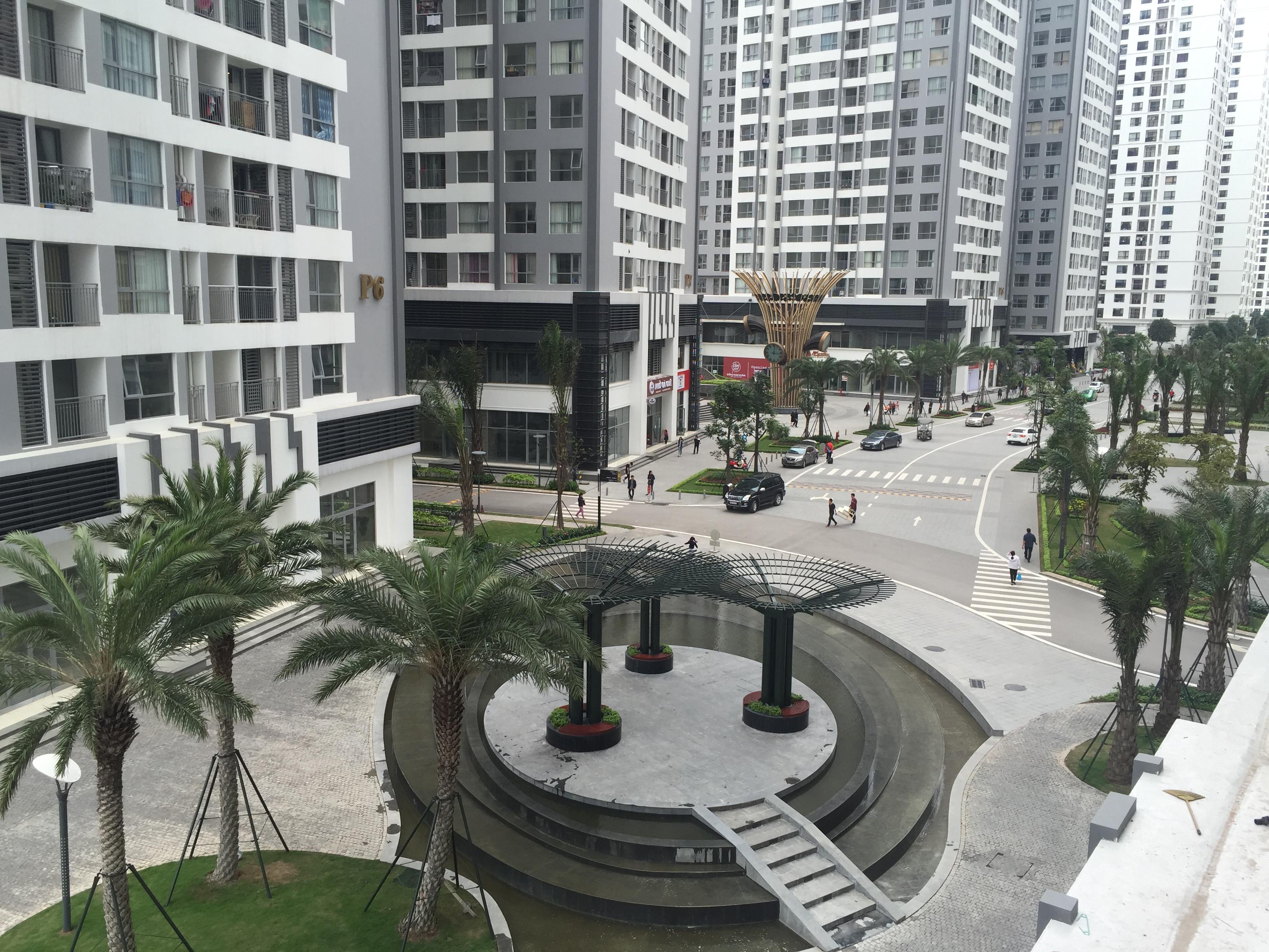 Chung cư Times City quá nổi tiếng với nhiều tiện ích